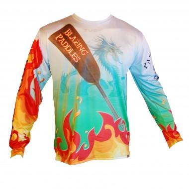 Camiseta M/Larga  Blazing Paddles