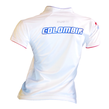 Camisa Tipo Polo Colombia sub 23 2015